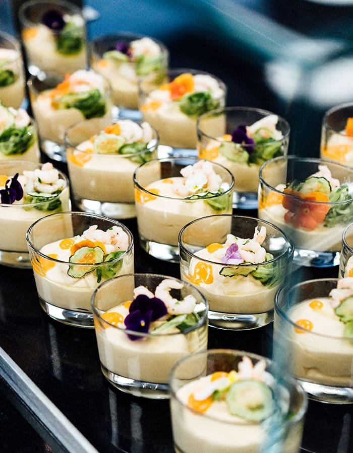 Abbildung von Dessert-Gläschen