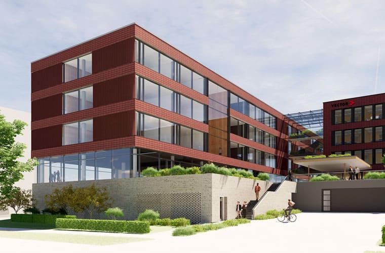 3D-Visualisierung vom CANtine Standort Regensburg