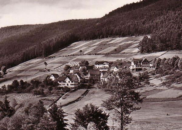 Historisches Bld der Traube Tonbach