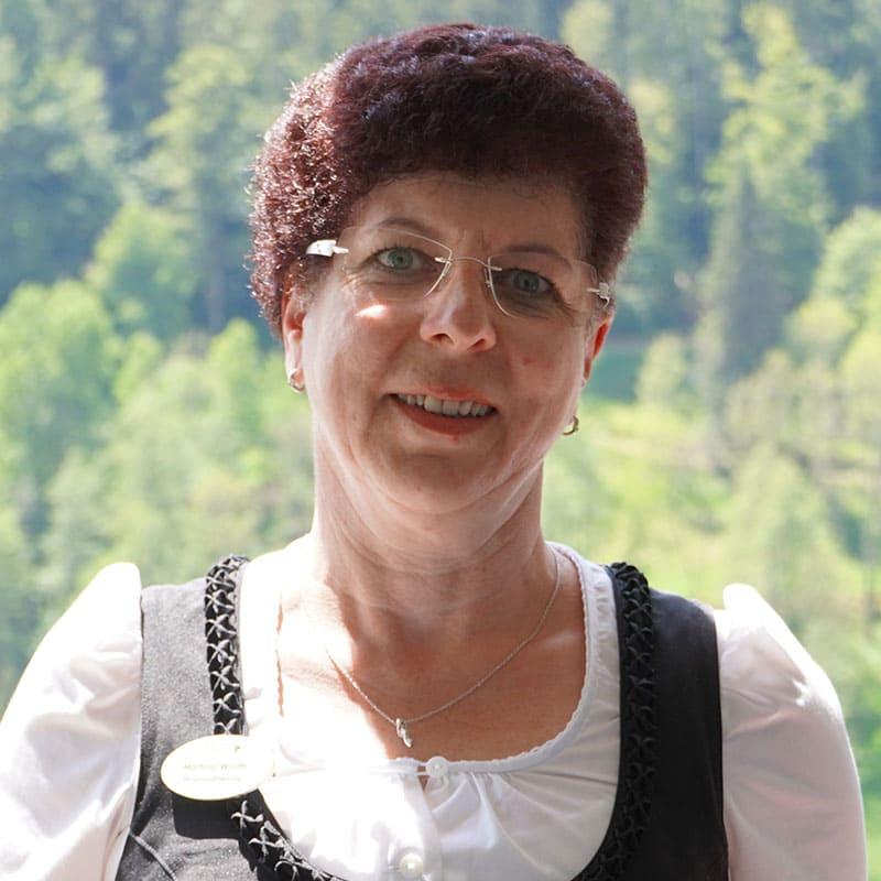 Ansprechpartnerin Personal Frau Würth
