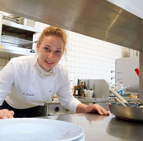 Mitarbeiter in der Küche