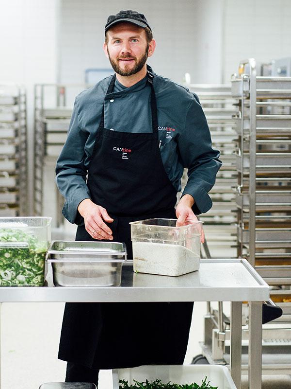 Küchenchef Jochen Behl