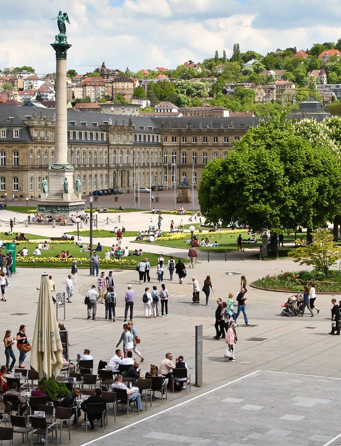 Stuttgarter Innenstadt