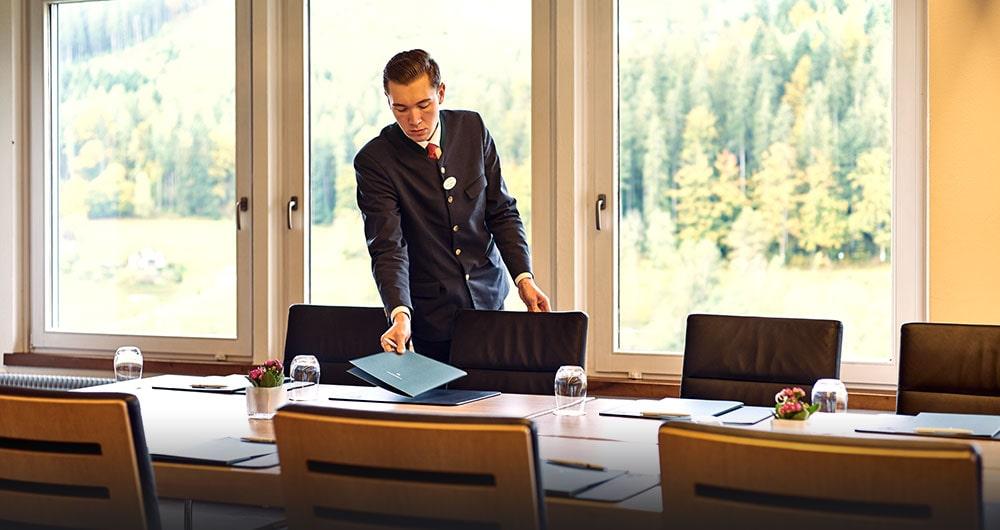 Mitarbeiter Bankett des Hotels Traube Tonbach
