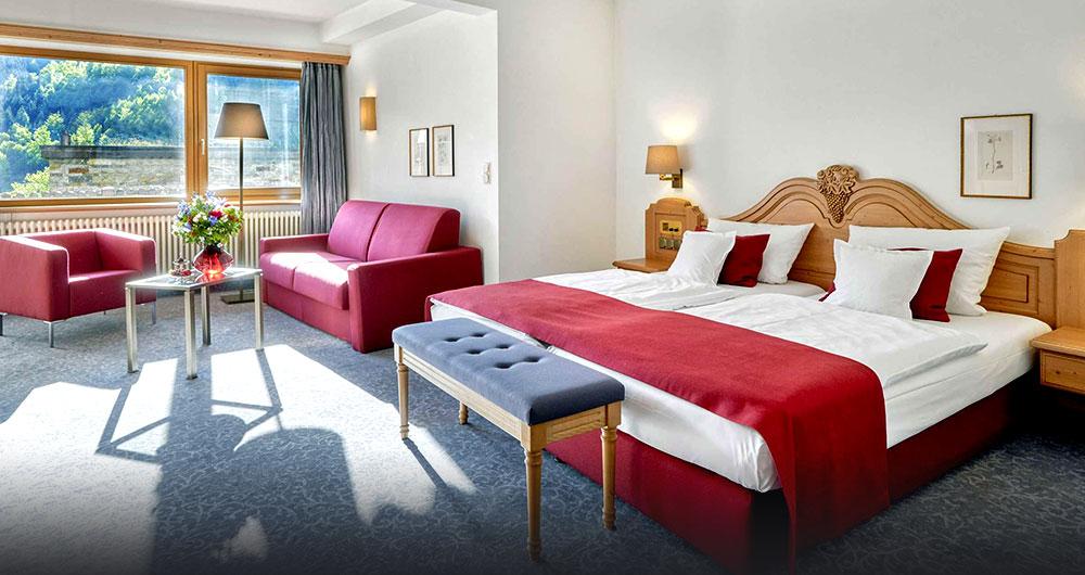 Hotelzimmer des Hotels Traube Tonbach